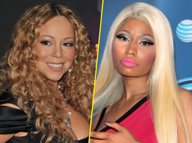 """Nicki Minaj : elle traite Mariah Carey de """"bitch"""" dès la première émission…"""