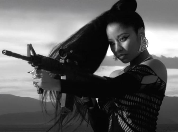 Nicki Minaj : lourdement armée et absolument caliente, elle dévoile (enfin) son nouveau clip !