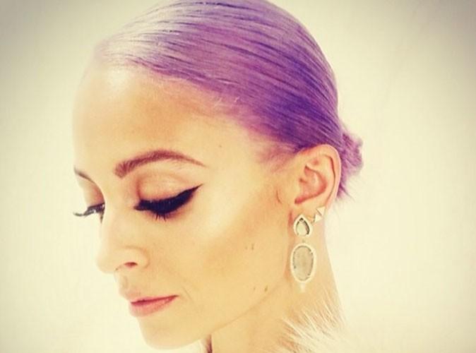 Nicole Richie : elle est passée aux cheveux violets !