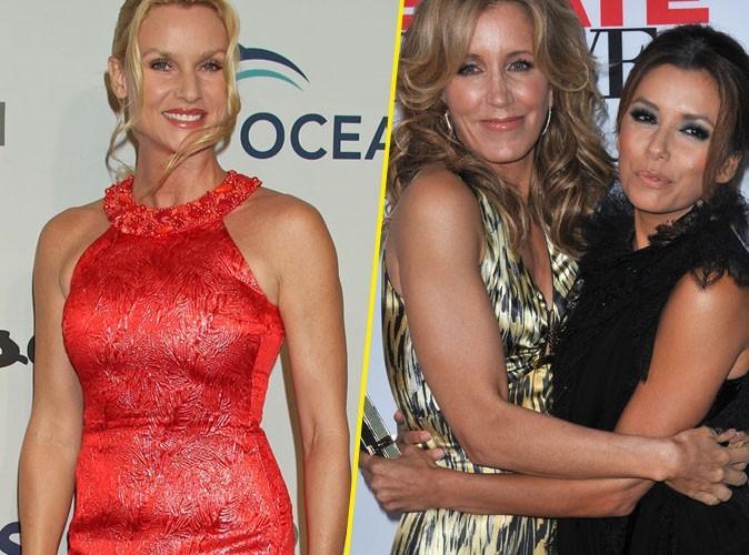Nicolette Sheridan : Eva Longoria et Felicity Huffman soulagées de son départ de Desperate Housewives !