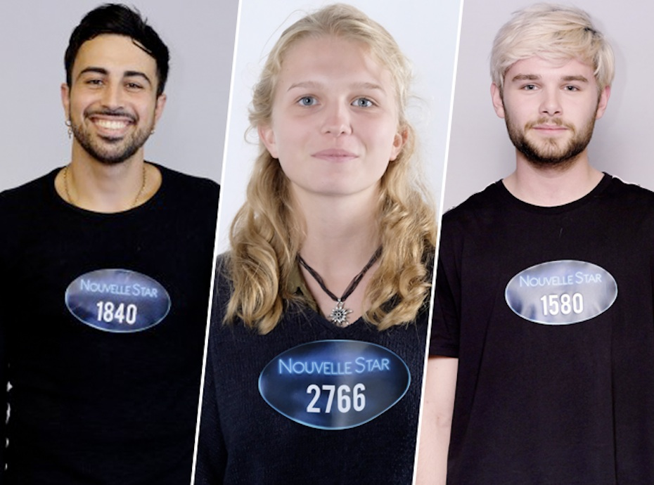 Nouvelle Star (M6) : Thibaud, Emy, Mathieu, vous connaissez certains candidats...