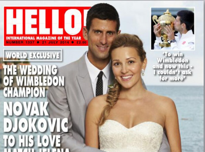 """Novak Djokovic : radieux et amoureux, il se confie sur """"l'ange"""" qu'il a épousé !"""