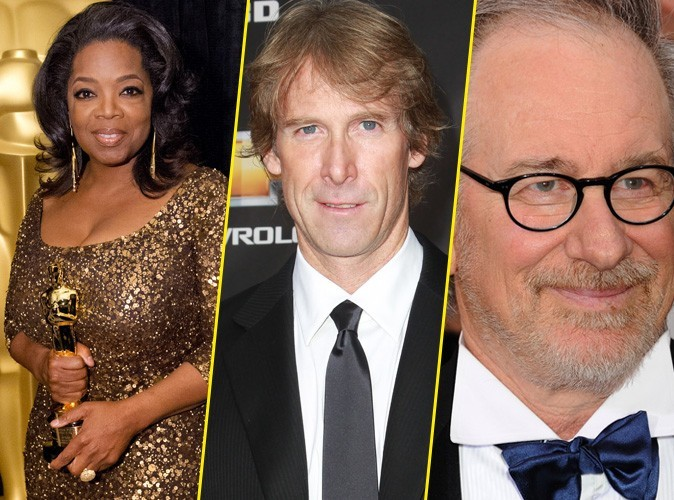 Oprah Winfrey, Michael Bay, Steven Spielberg ... Découvrez le classement des célébrités les plus riches !