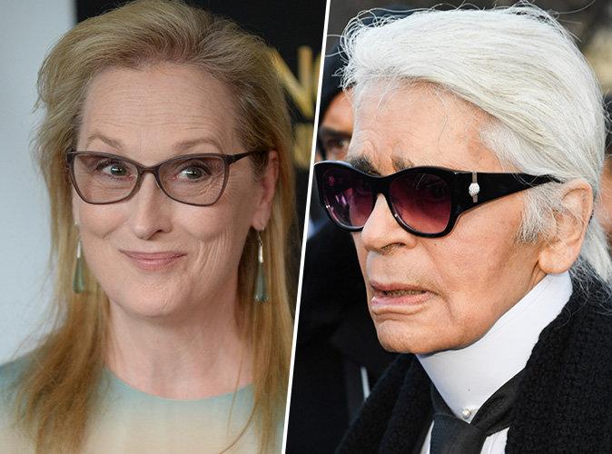 Oscars 2017 : Meryl Streep : Insultée par Karl Lagerfeld, elle lui réclame des excuses publiques !