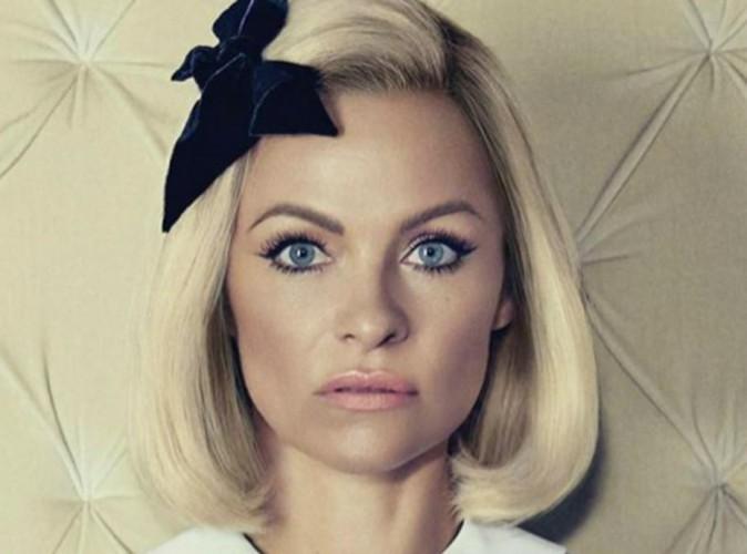 Pamela Anderson : m�tamorphos�e pour un shooting !