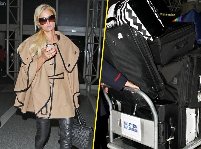 Paris Hilton : alerte, une de ses valises égarée !