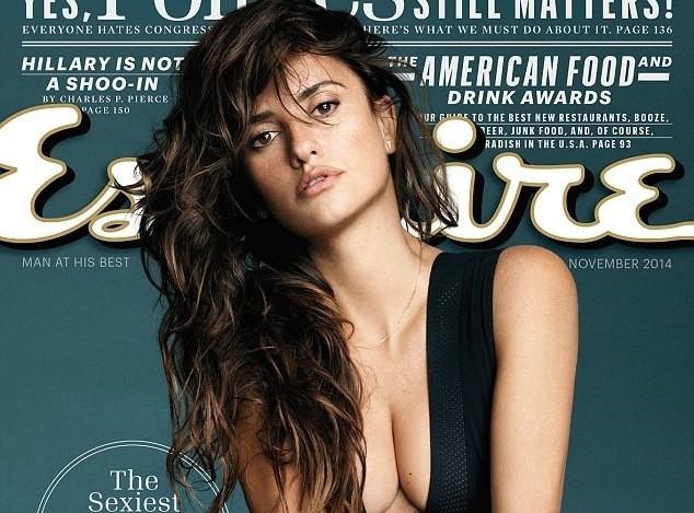 Penelope Cruz : élue femme la plus sexy du monde par Esquire Magazine !