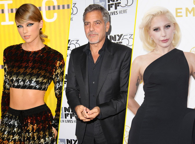 People's Choice Awards 2016 : Taylor Swift, George Clooney, Lady Gaga… Tous les nommés !