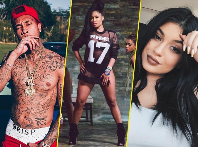 Pervers selon Nicki Minaj, Tyga prend la défense de Kylie Jenner en chanson !