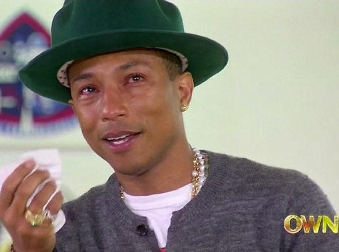 Pharrell Williams : découvrez pourquoi vous le faites pleurer !