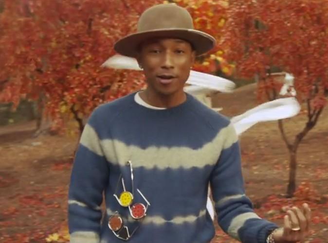 """Pharrell Williams : il dévoile enfin le clip de """"Gust of Wind"""" avec les Daft Punk !"""