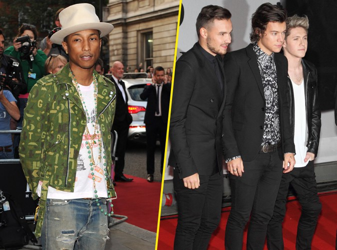 Pharrell Williams : une collaboration avec One Direction, il ne dit pas non !