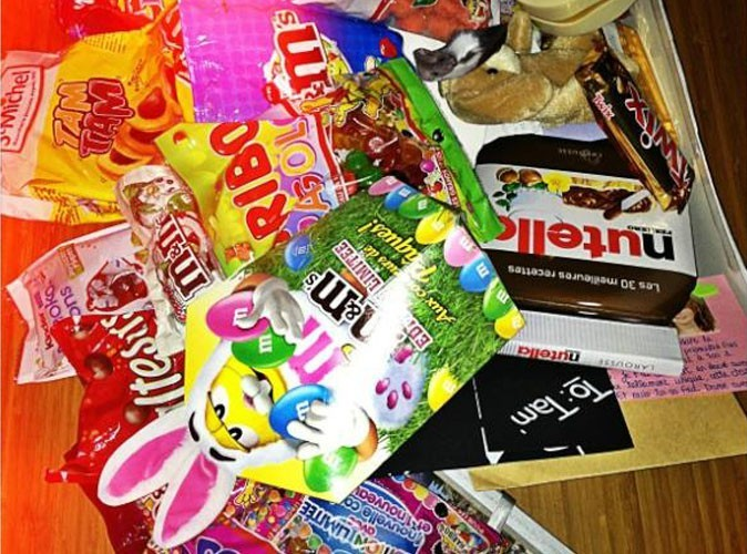 Photo : à qui appartiennent ces bonbons?