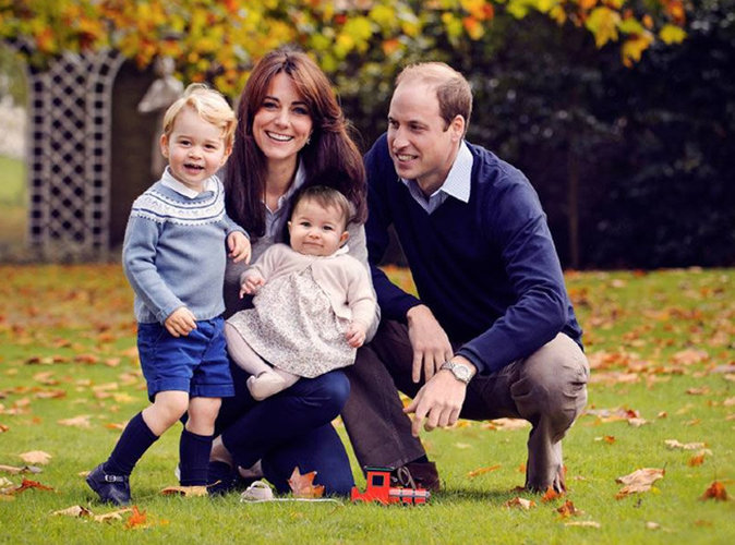 Photo : Kate Middleton, William, George et Charlotte vous souhaitent un joyeux Noël !