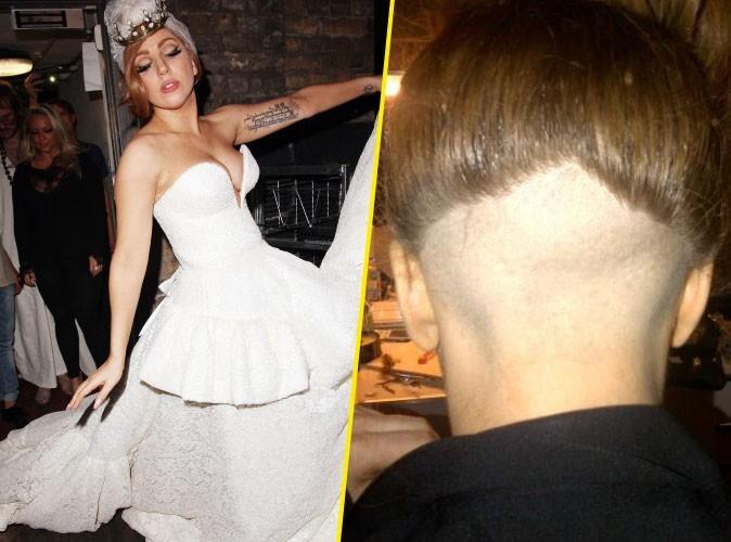 Photo : Lady Gaga s'est rasée la tête !