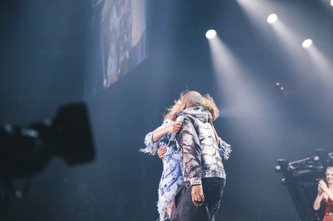 Beyoncé surprise sur scène par son mari Jay Z le 25 juillet