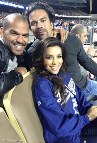 Avec Ricardo Antonio Chavira, son partenaire dans Desperate Housewives