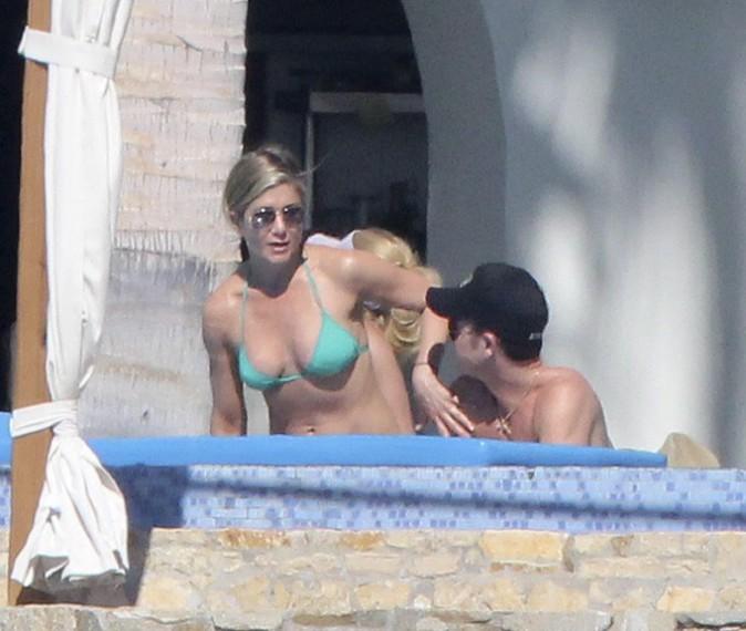 Jennifer Aniston et Courteney Cox à Cabo San Lucas le 30 décembre 2013