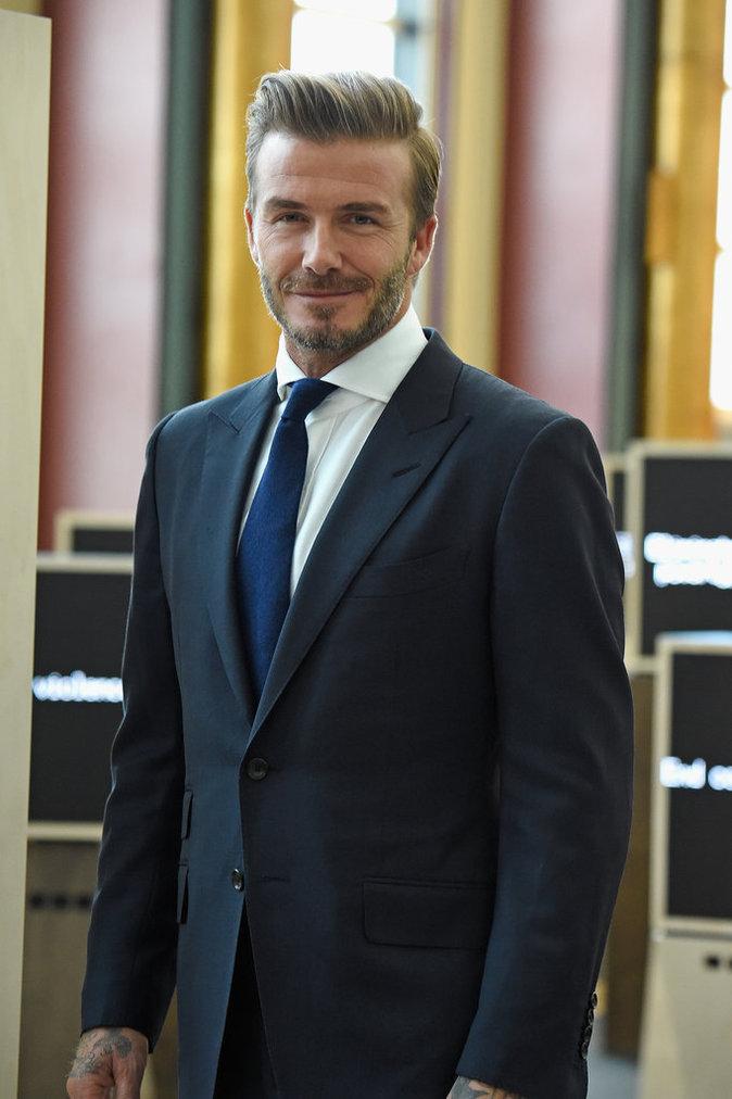 David Beckham, ambassadeur de l'Unicef, soutient une oeuvre pour promouvoir la voix de l'enfant à l'ONU