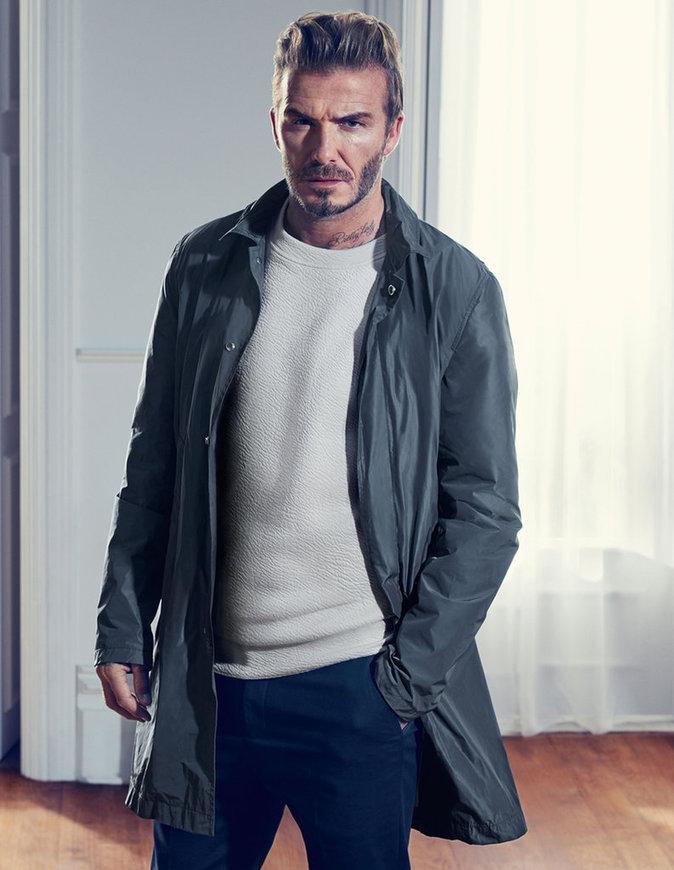David Beckham dans la nouvelle campagne de publicité printemps/été 2016 de H&M