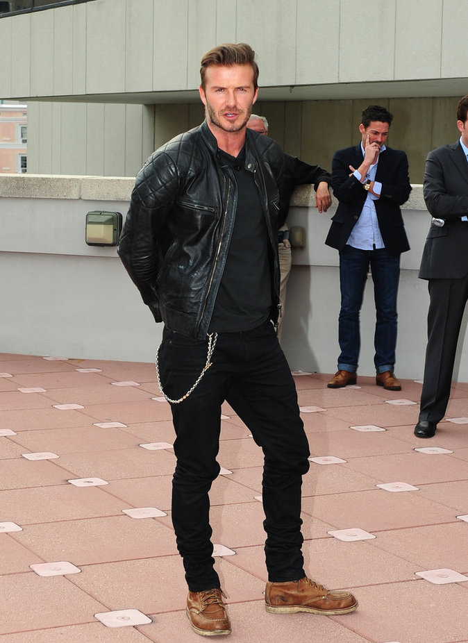 David Beckham dévoile son projet de stade de football au Miami Beach hôtel à Miami