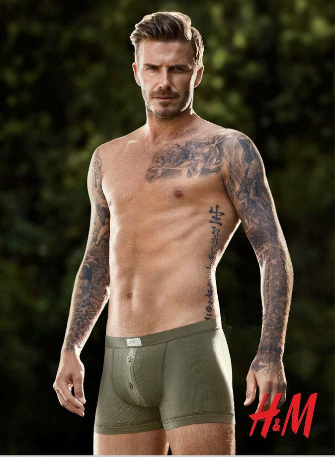 David Beckham égérie H&M