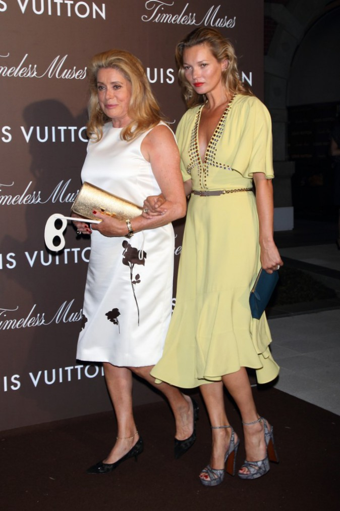 Kate Moss et Catherine Deneuve pour Louis Vuitton