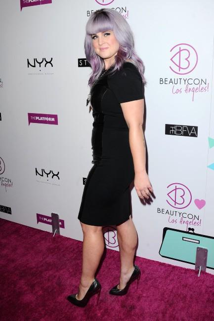 Kelly Osbourne et sa nouvelle frange, le 24 août 2013 à Los Angeles