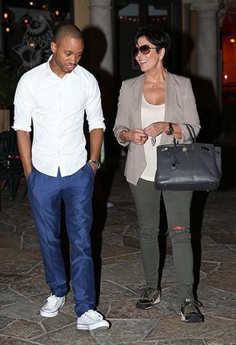 Kourtney Kardashian en famille à Calabasas le 16 septembre 2013