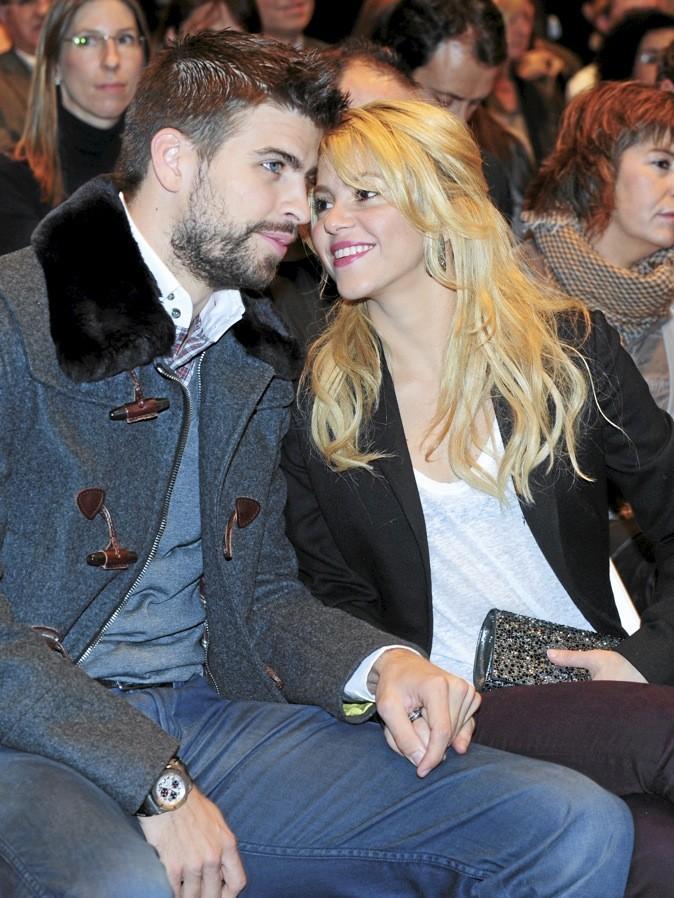 Shakira et Gerard Piqué = 10 ans de différence !