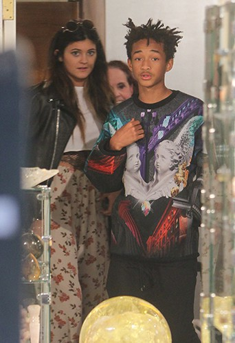 Kylie Jenner et Jaden Smith à Los Angeles le 19 novembre 2013
