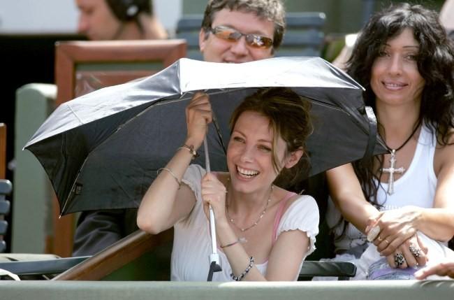 2005 : à Roland Garros à Paris