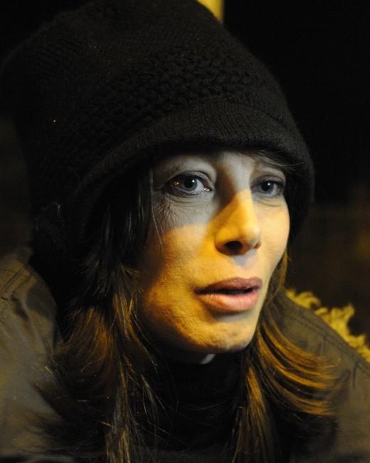 2012 : Mallaury Nataf est SDF