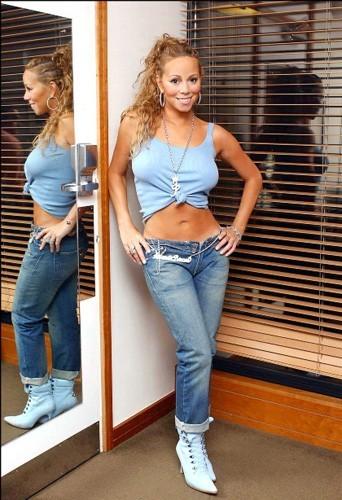 Mariah Carey et son street look du début des années 2000...