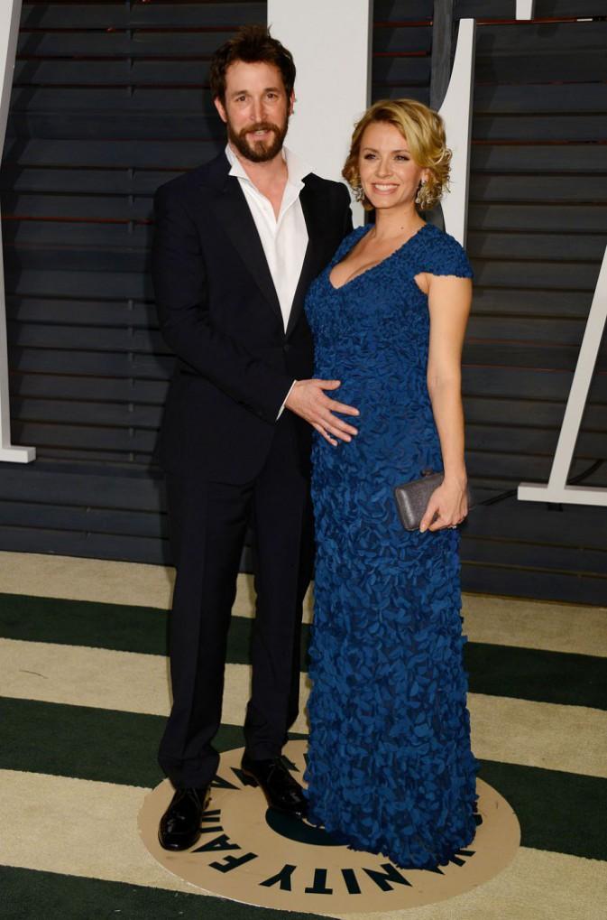 Noah Wyle et Sara Wells