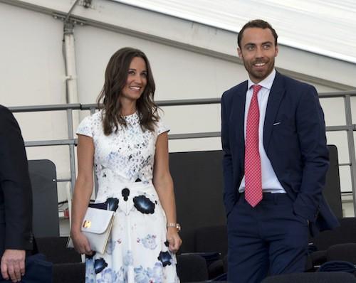 Pippa et James Middleton au Coronation Festival en l'honneur de la reine Elizabeth II