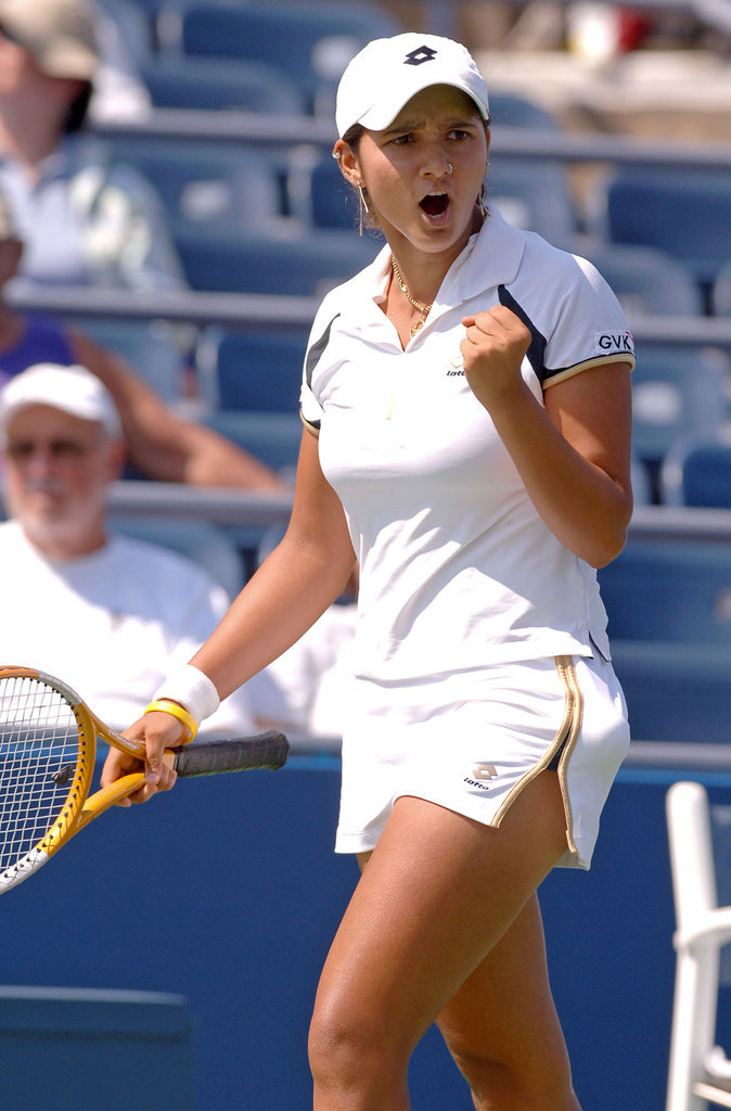 3 - Sania Mirza (tennis)