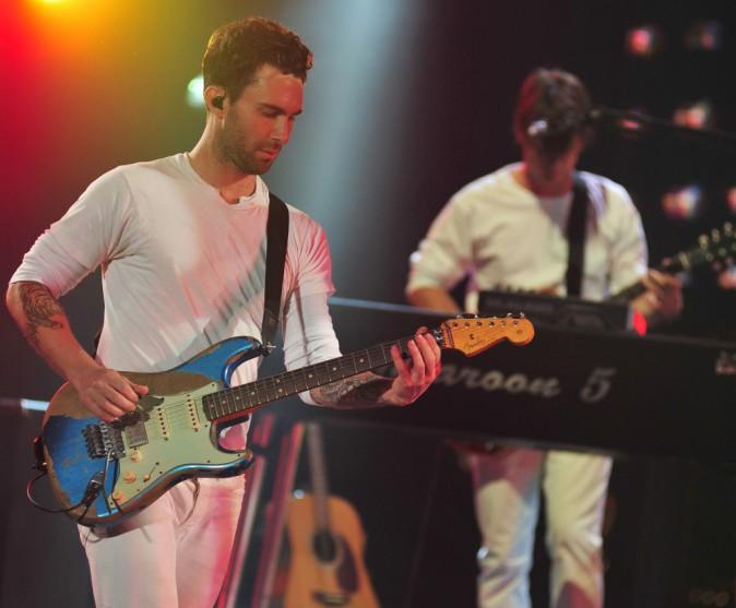 Janvier : Les Maroon 5 jouent à Bercy !