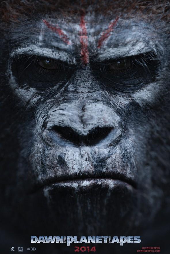 Juillet : La Planète des singes : l'affrontement au cinéma !