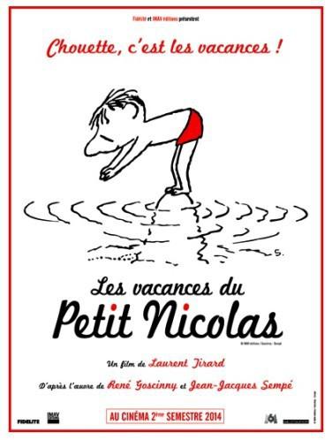 Juillet : Les Vacances du petit Nicolas au cinéma !
