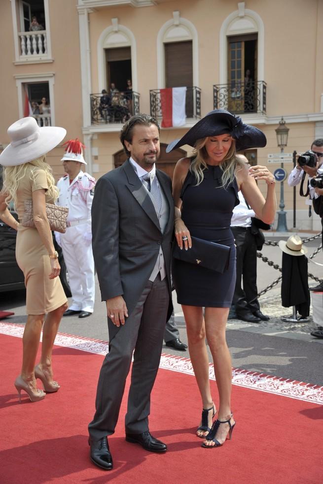 Henry Leconte et son épouse