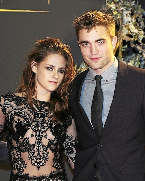 Robert Pattinson et Kristen Stewart