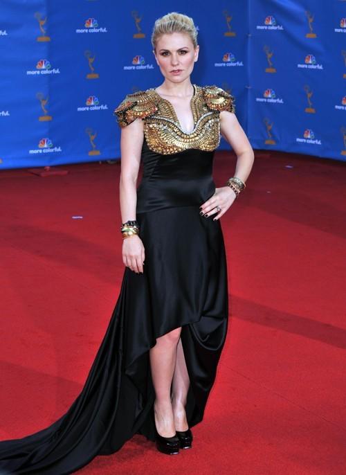 Anna Paquin, une fidèle du créateur, aux Emmy Awards le 29 août 2010.