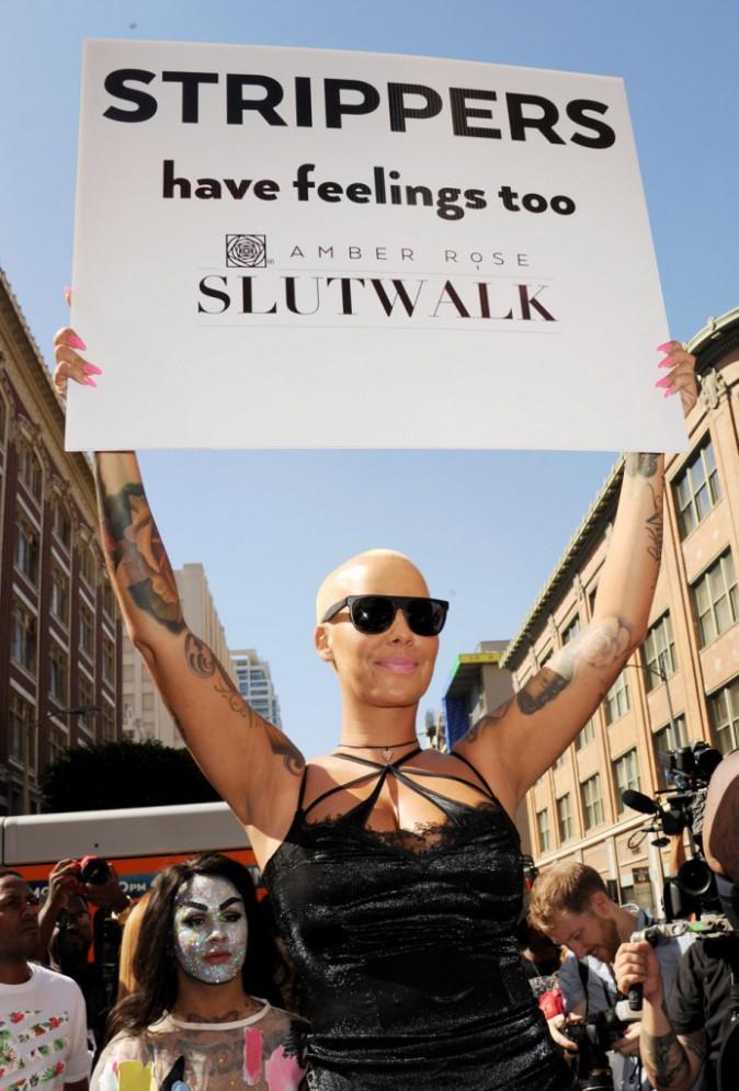 """Amber Rose : """"Les strip-teaseuse ont des sentiments, elles aussi"""""""