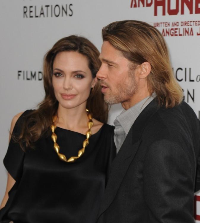 Angelina sait toujours où est l'objectif !