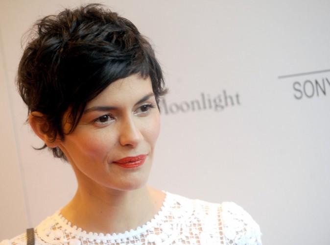 Audrey Tautou : Superbe en blanc pour la première du film Magic In The Moonlight !