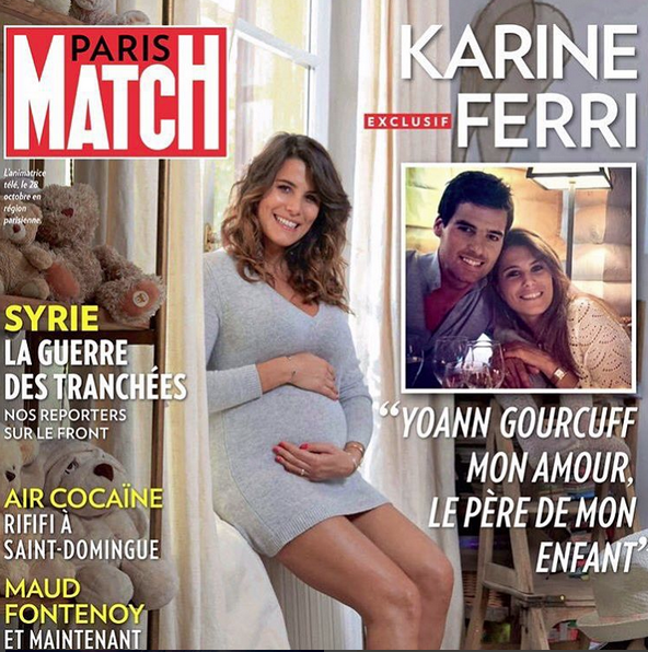 Karine Ferri est aujourd'hui maman et file le parfait amour avec Yoann Gourcuff