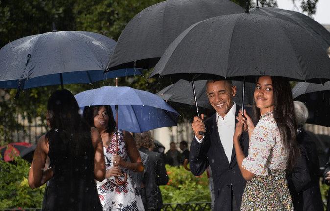 Barack Obama :  visite historique de Cuba en famille