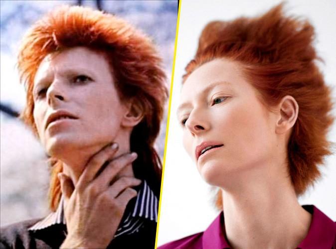Tilda Swinton et David Bowie !