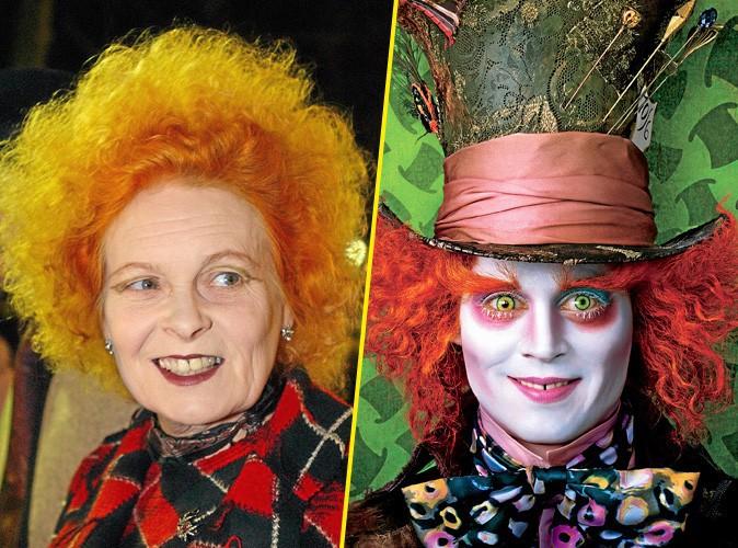 Vivienne Westwood et Johnny Depp !